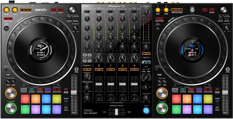 Pioneer DJ presenta controlador de DJ de rendimiento de 4 canales estilo club para uso dedicado con Serato DJ Pro