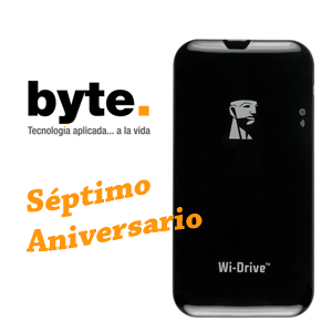 Gana un Wi-Drive de Kingston con Byte Podcast