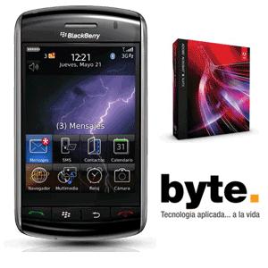 Gana una Blackberry Storm con Adobe Acrobat y Byte!