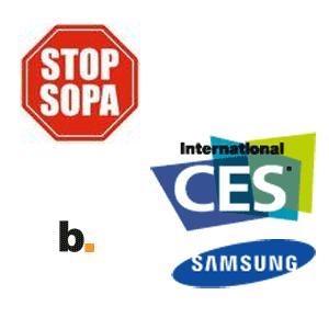 SOPA y CES 2012 parte 1: Samsung – Byte Podcast 292