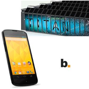 La nueva supercomputadora Titan y el nuevo Nexus 4 – Byte Podcast 346