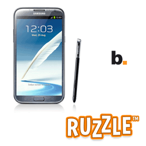 Samsung Galaxy Note II y Ruzzle – Byte Podcast 349