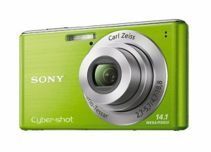 Cybershot W530 Green