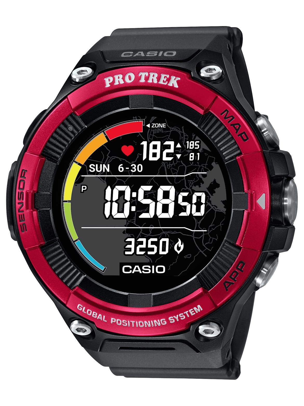 PRO TREK presenta el PRO TREK Smart, un monitor de frecuencia cardíaca