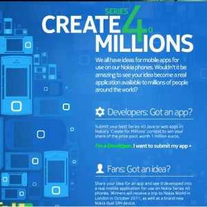 "Nokia ""Create for Millions"""