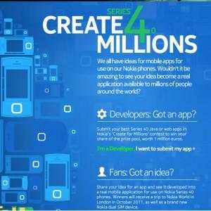 "Nokia ""Create for Millions"""