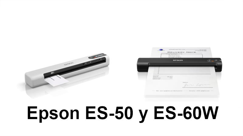 Epson lanza dos escáneres portátiles ligeros y veloces