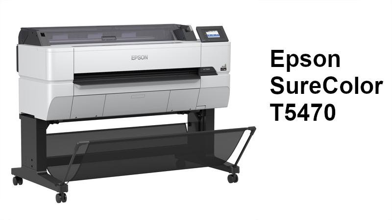 Lanza Epson impresora de gráficos SureColor T5470