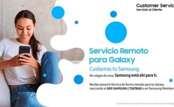 Galaxy Servicio Remoto