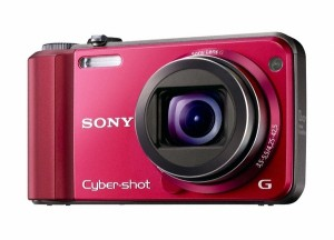 Sony Cybershot H70 - Red