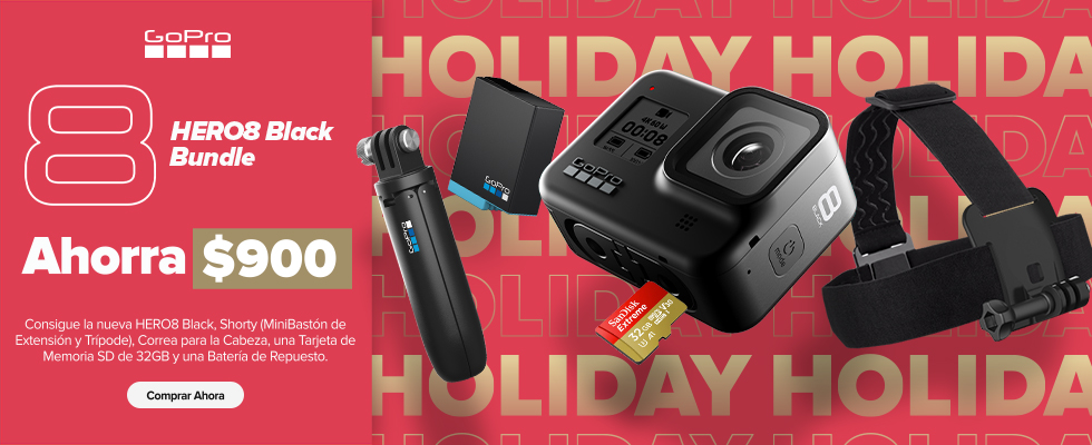 HERO8Black Bundle Holiday