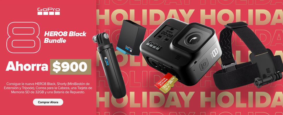 GoPro anuncia sus ofertas para esta navidad