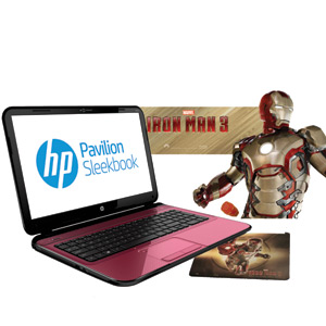 HP Sleekbook 14 Iron Man 3