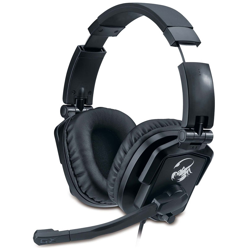 Nuevos auriculares profesionales de Genius para Gamers