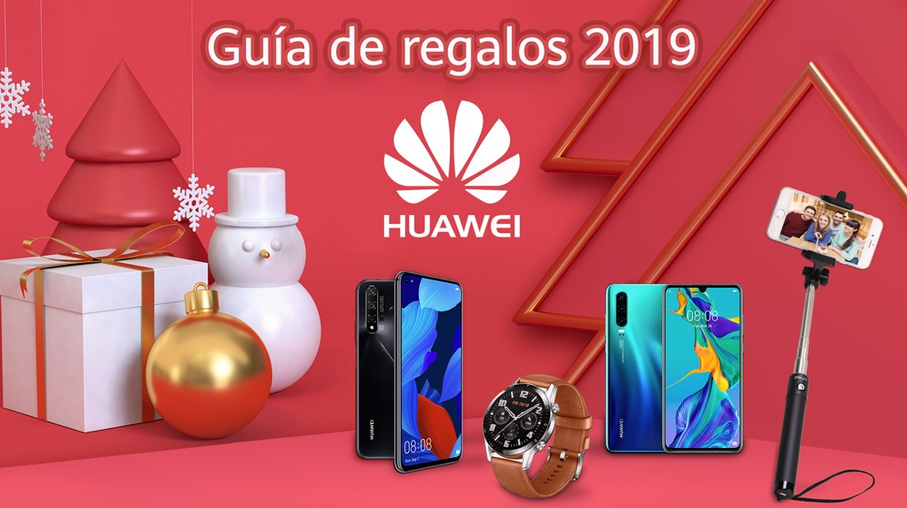 Guía de regalos Huawei