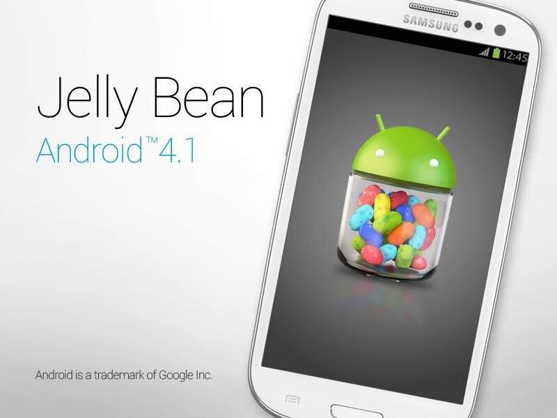 Jelly Bean Galaxy SIII