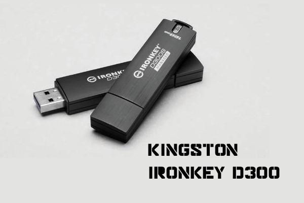 Kingston anuncia el USB IronKey D300 encriptado y con número de serie