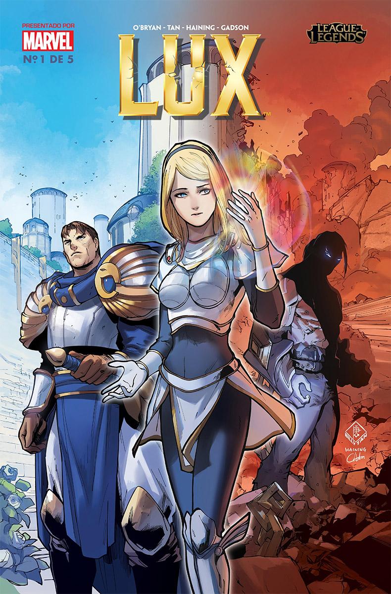 "Riot Games y Marvel anuncian ""Lux"", la segunda saga de cómics de League of Legends"