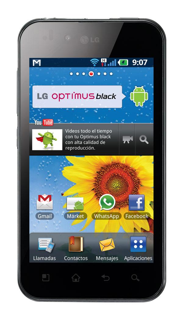 Nueva serie de smartphones LG Optimus Series