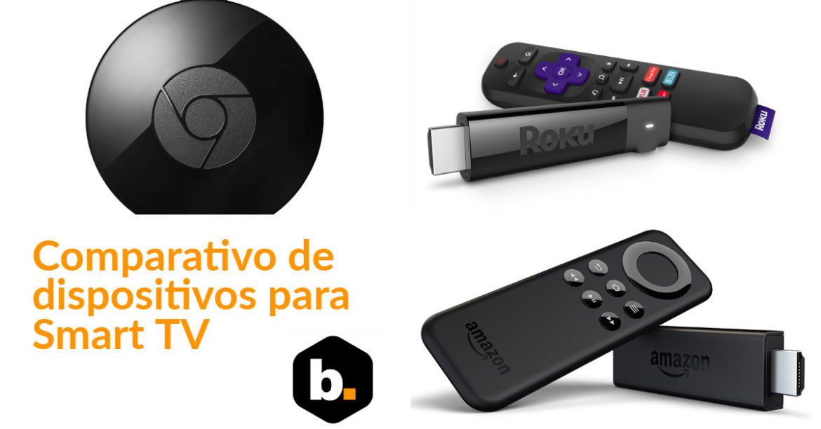Chromecast vs Fire TV Stick vs Roku