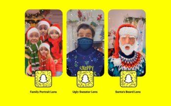 Snapchat Holiday Lenses