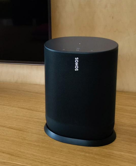 Sonos presenta Move, la primera bocina Sonos portátil
