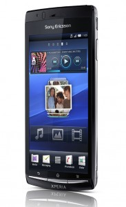Xperia arc Black