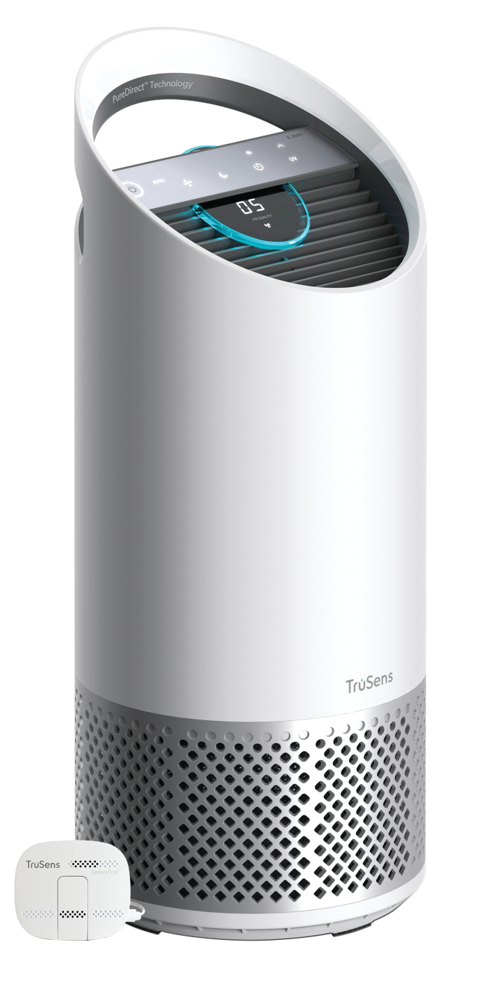 Lanzamiento de TruSens: Purificador de aire
