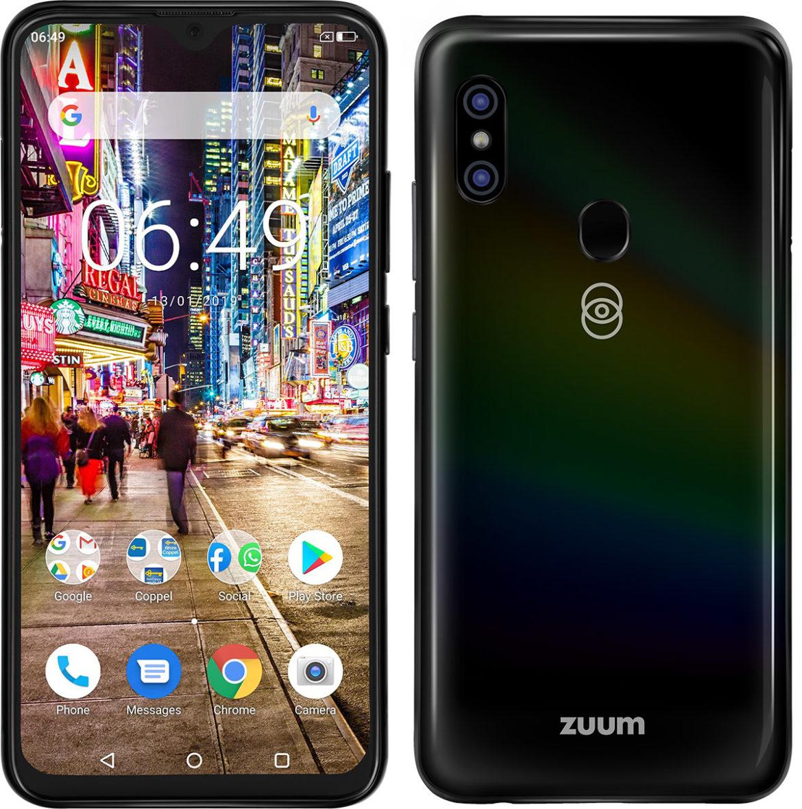 Aura X, el nuevo smartphone Octa-core de Zuum, llega a México