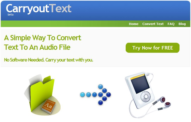 carryouttext