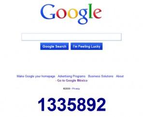 google-conteo
