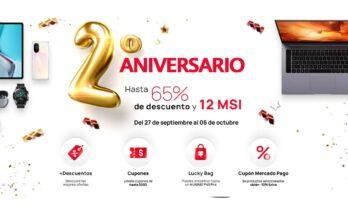 Huawei aniversario e-shop