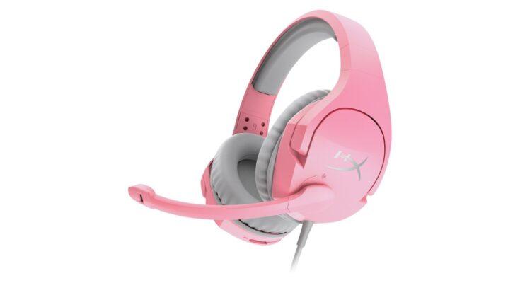 hyperX Cloud Stinger pink