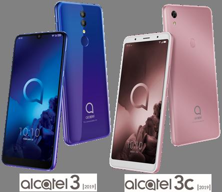 Alcatel presenta dos nuevos smartphones con memorias amplias y pantallas inmersivas