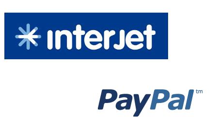 Paypal anuncia alianza con Interjet para pagos de servicios