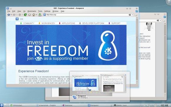KDE SC 4.5
