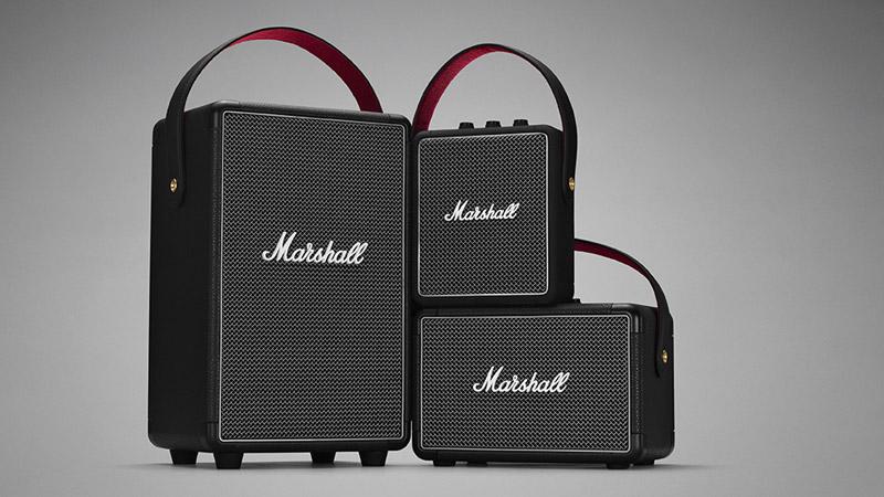 Nueva línea de bocinas portátiles de Marshall Headphones