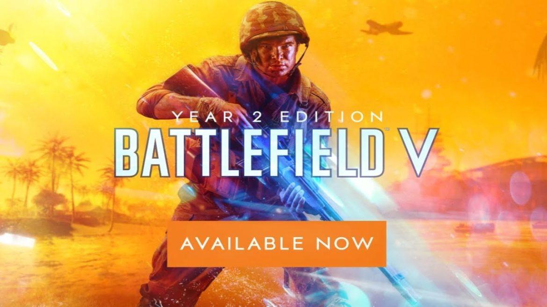 La edición año 2 de Battlefield V y el capítulo 5: Guerra del Pacífico, ya se encuentran disponibles