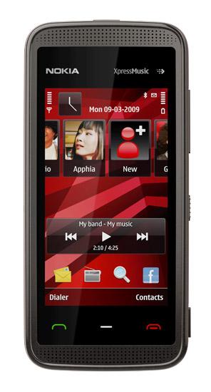 Nokia 5530XM red