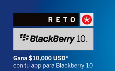 Reto BlackBerry 10 para desarrollo de juegos y Apps