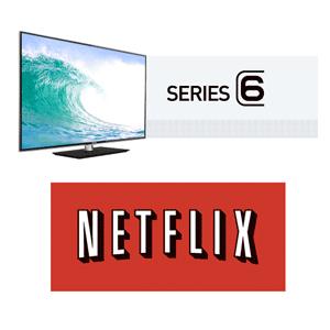 Samsung Series 6 - Netflix
